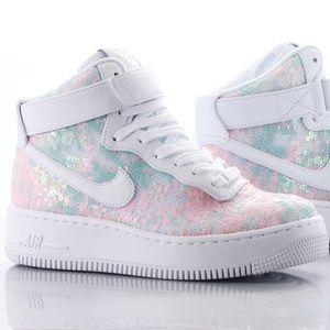 Nike af1 upstep hi lx sneakers